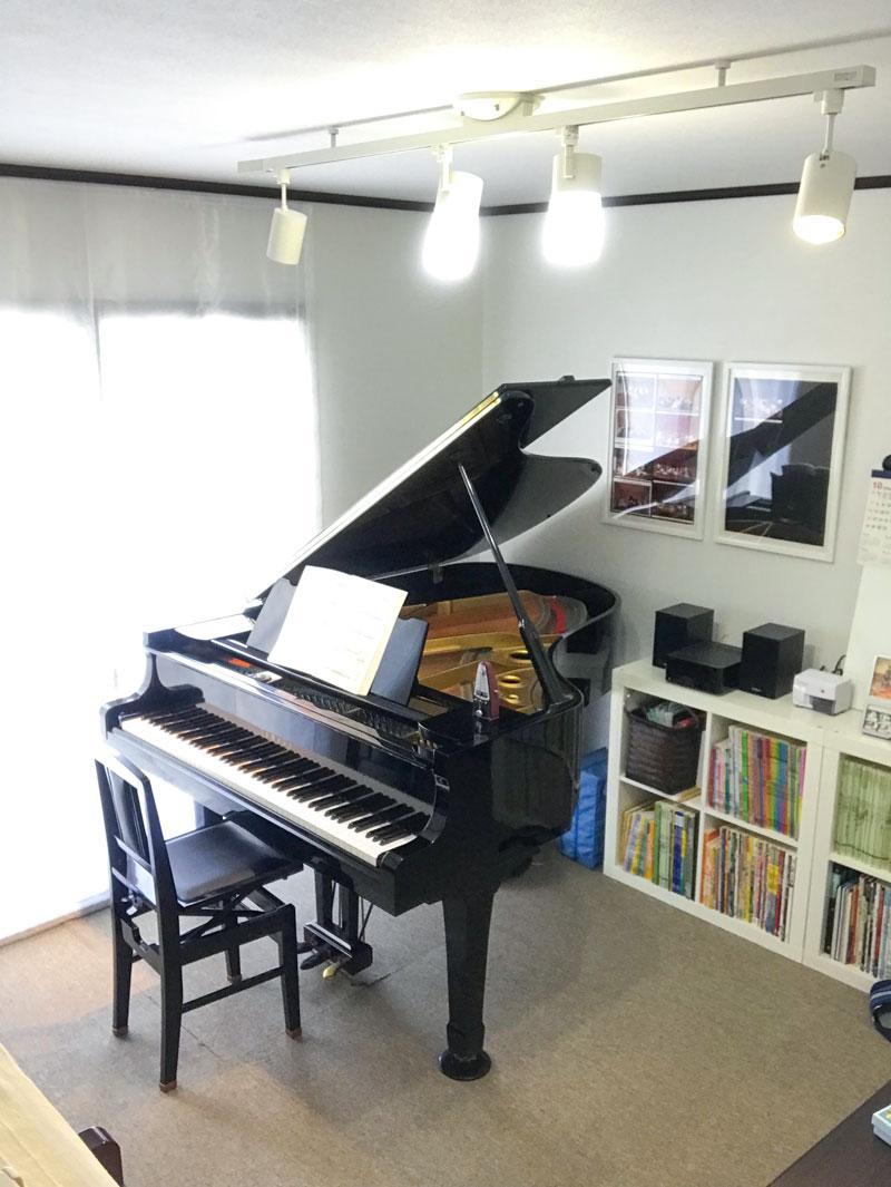 京都市西京区牛ケ瀬のピアノ教室